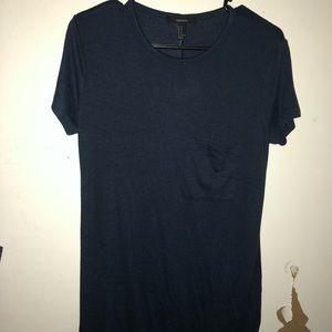 Never Worn Navy T Shirt Dress